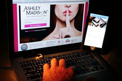 The Ashley Madison website