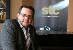 Caleb Marshall is artistic executive director of the Sudbury Theatre Centre. John Lappa/Sudbury Star