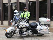 Cpl. Gary Weigum, supervisor of the Grande Prairie RCMP municipal traffic unit. Alexa Huffman/Daily Herald-Tribune