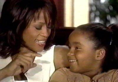 "Whitney Houston and her daughter Bobbi Kristina in December, 2002. (<A HREF=""http://www.wenn.com"" TARGET=""newwindow"">WENN.COM</a>)"