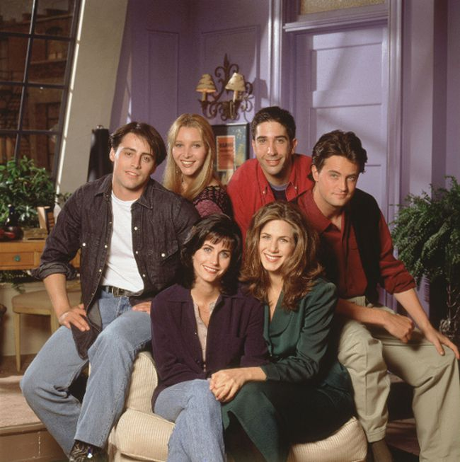 The cast of Friends (Handout photo)