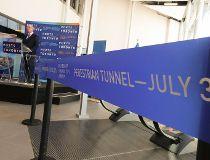 Underground tunnel at Toronto island airport_6