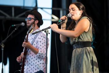 The Orchard perform at the Molson Canadian Saloon during Big Valley Jamboree 2015 in Camrose, Alta. on Thursday July 30, 2015. Ian Kucerak/Edmonton Sun/Postmedia Network