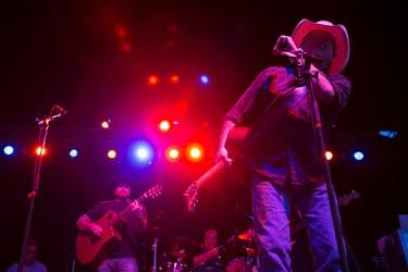 Mark Chesnutt performs in the Molson Canadian Saloon during Big Valley Jamboree 2015 in Camrose, Alta. on Thursday July 30, 2015. Ian Kucerak/Edmonton Sun/Postmedia Network