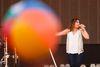 Lady Antebellum lead singer Hillary Scott performs for the crowd at BVJ Sunday night.(Ian Kucerak/Edmonton Sun)