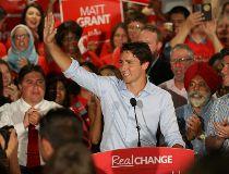 Justin Trudeau Calgary campaign rally