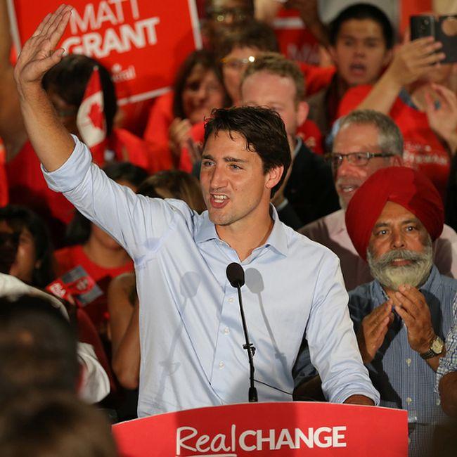 Federal Liberal Leader Justin Trudeau Admits Uphill Battle