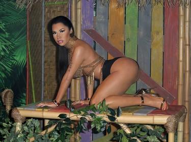 Madame Tussauds Las Vegas unveiling of the world's first Nicki Minaj wax figure. (Judy Eddy/WENN.com)