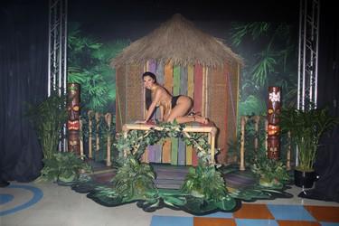 Madame Tussauds Las Vegas unveiling of the world's first Nicki Minaj wax figure. (DJDM/WENN.com)