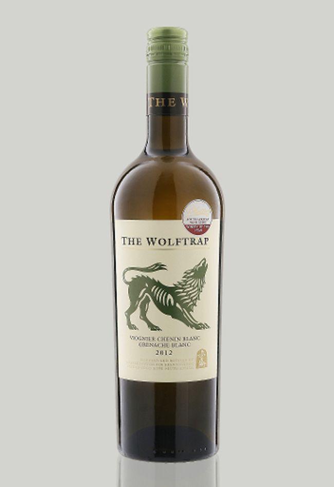 Boekenhoutskloof 2014 The Wolftrap White Viognier Chenin Blanc Grenache Blanc, South Africa.
