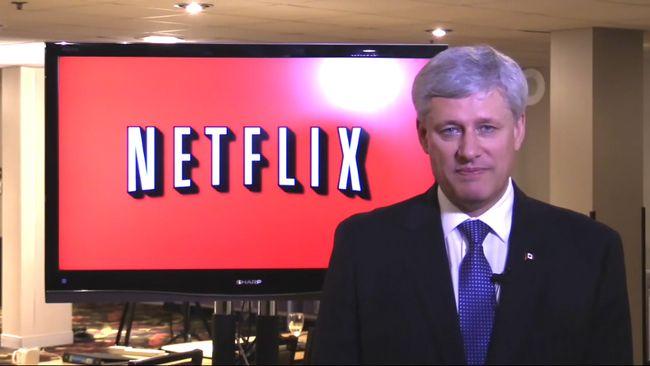 Stephen Harper Netflix