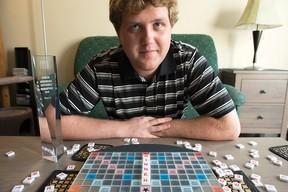 Matthew Tunnicliffe of Kanata, the 2015 North American Scrabble champion. (DANI-ELLE DUBE/OTTAWA SUN)