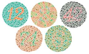 Colour blind test