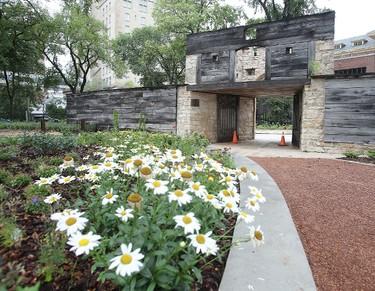 Upper Fort Garry Provincial Park is seen in Winnipeg, Man. Thursday August 06, 2015. The park is set to officially open next week. Brian Donogh/Winnipeg Sun/Postmedia Network