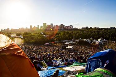 The hill is seen during the Edmonton Folk Music Festival at Gallagher Park in Edmonton, Alta. on Saturday, Aug. 8, 2015. Codie McLachlan/Edmonton Sun/Postmedia Network