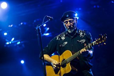 Richard Thompson performs on the main stage during the Edmonton Folk Music Festival at Gallagher Park in Edmonton, Alta. on Saturday, Aug. 8, 2015. Codie McLachlan/Edmonton Sun/Postmedia Network