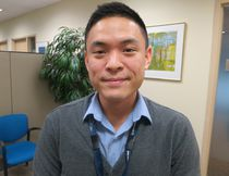 Dr. Peter Wu, an internal medicine specialist in Toronto