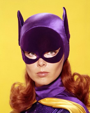 Yvonne Craig as Batgirl. (Handout)