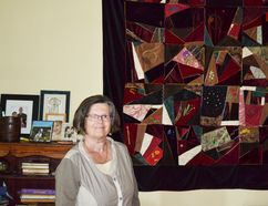 Local artist Jenny Iserman.