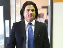 Suspended senator Patrick Brazeau leaves court in Gatineau, Que Tuesday May 19, 2015. Tony Caldwell/Ottawa Sun/Postmedia Network