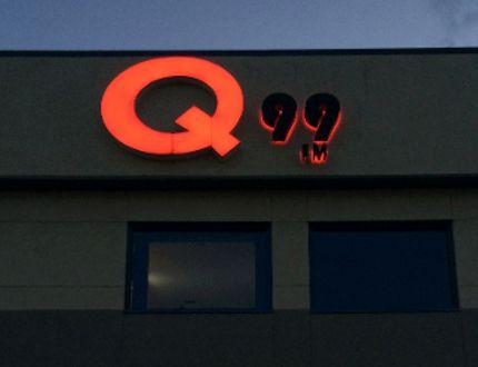 The Q99 Grande Prairie radio station on 108 Avenue. Tom Bateman/DHT File