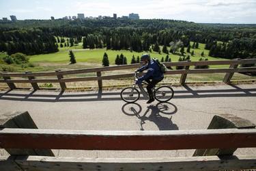 The Victoria Promenade is seen in Edmonton, Alta., on Wednesday September 2, 2015. The centre is nominated for a 2015 Edmonton Urban Design Awards Peoples Choice Award. Ian Kucerak/Edmonton Sun/Postmedia Network