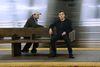 Christian Slater as Mr. Robot, Rami Malek as Elliot (Peter Kramer/USA Network)