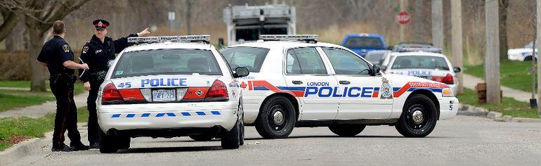 London police (Free Press file photo)