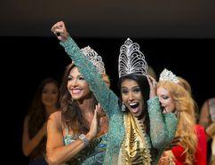 Vasily Fedosenko/Reuters Ashley Burnham reacts as she wins the Mrs. Universe 2015 contest in Minsk, Belarus.