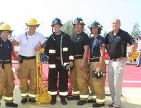Bruce Power A Crew won the regional in-house FireFit Challenge Sept 4. (MEGAN DUNN/SHORELINE BEACON)