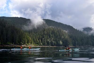 Kayaking during an August 2015 tour in Gwaii Haanas National Park Reserve on B.C.'s Haida Gwaii. Dietmar Koethner/Special to the Edmonton Sun/Postmedia Network
