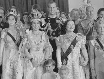 Queen Elizabeth's coronation, 1953.