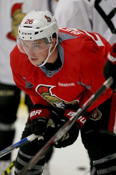 Ottawa Senators forward Matt Puempel.  Tony Caldwell/Ottawa Sun/Postmedia Network