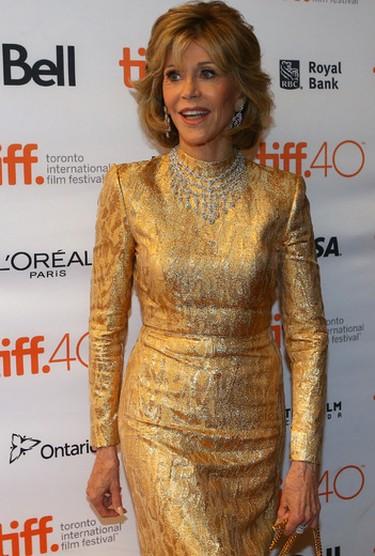 Jane Fonda on the Red Carpet for movie Youth during the Toronto International Film Festival in Toronto on Friday September 11, 2015. Dave Abel/Toronto Sun/Postmedia Network