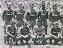Canada's 1986 soccer team. (Canada Soccer Association)