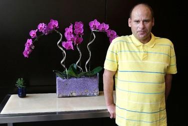 Steve Fonyo from the documentary Hurt: The Steve Fonyo Story poses for a photo during the Toronto International Film Festival in Toronto on Tuesday September 15, 2015. Craig Robertson/Toronto Sun/Postmedia Network