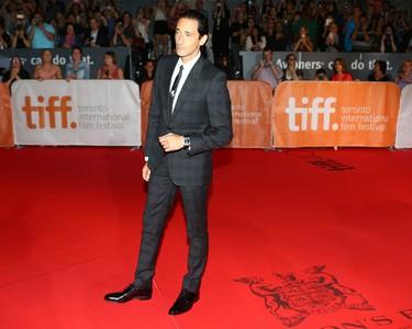 "Adrien Brody on the red carpet for movie ""Septembers of Shiraz"" during the Toronto International Film Festival in Toronto on Friday September 11, 2015. Dave Abel/Toronto Sun/Postmedia Network"