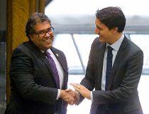 Trudeau Nenshi meeting