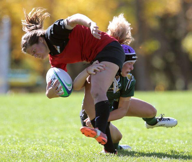 Calgary Dinos Women S Rugby Team Tops Alberta Pandas