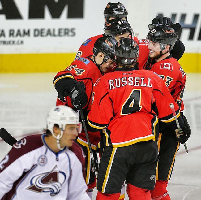 Calgary Flames' Jiri Hudler