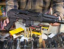 AK-47 pistol gun rifle