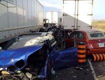 Horrific multi-vehicale crash on Hwy. 401_11