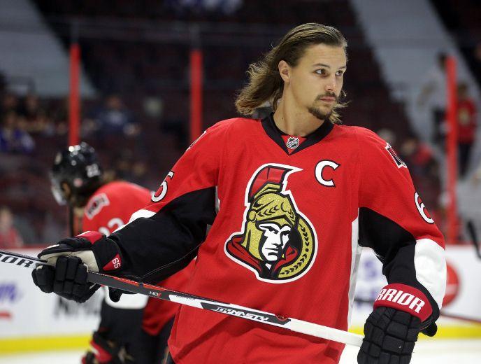 Hair Today Gone Tomorrow Senators Captain Erik Karlsson