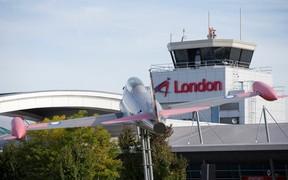 The London International Airport.  (Free Press file photo)