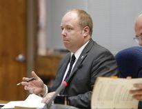 JASON MILLER/The Intelligencer Coun. Paul Carr at Monday's city council meeting.