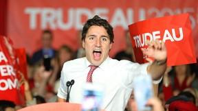 Justin Trudeau rallies supporters in Winnipeg on Saturday. (KEVIN KING/Winnipeg Sun)