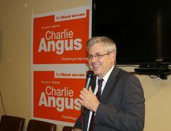 Charlie Angus, MP for Timmins - James Bay