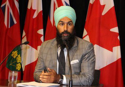 NDP MPP Jagmeet Singh