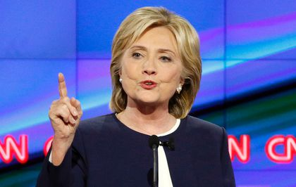 Hillary Rodham Clinton, democratic debate