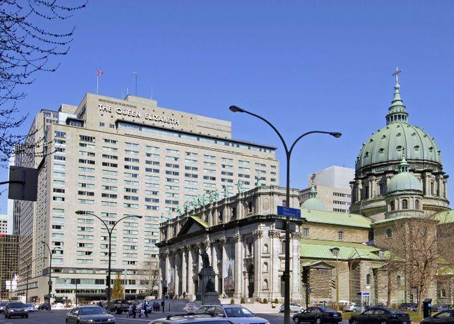 Queen Elizabeth Hotel Montreal Brunch